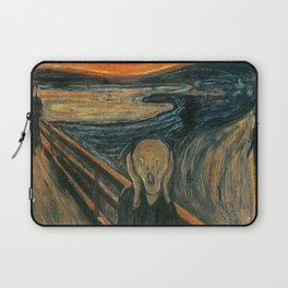 THE SCREAM - EDVARD MUNCH Laptop Sleeve