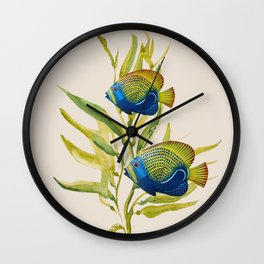 Fishes 2 Wall Clock