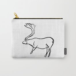 French Paleolithic deer Carry-All Pouch
