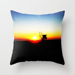 Solemn Goodbye Throw Pillow