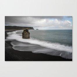 Sands Of Reynisfjara Canvas Print