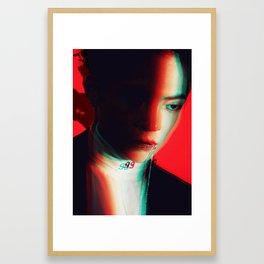 3D Xiumin Framed Art Print
