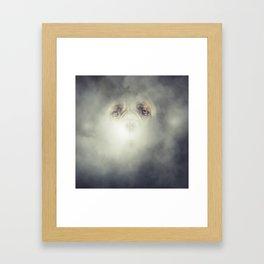 Dog Fog Framed Art Print
