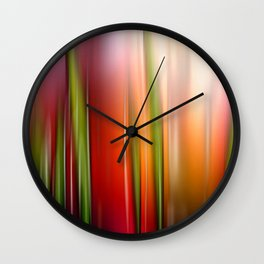 Heißer Sommer. Wall Clock