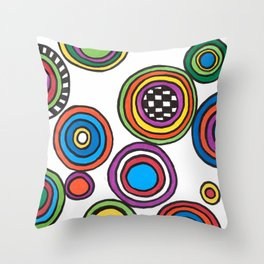 A Leopard Cannot Change his Spots. Throw Pillow