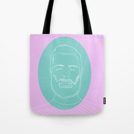 Chet Doodle Tote Bag