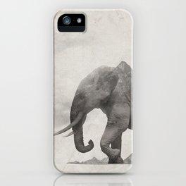 Rocky Elephant iPhone Case