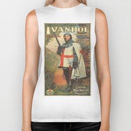 Vintage poster - Ivanhoe Biker Tank