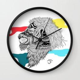 HAKUNA LION Wall Clock
