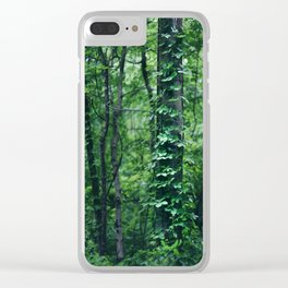 A Tree Grows in the Woods Clear iPhone Case