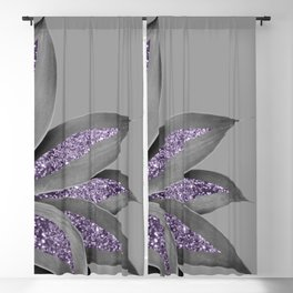 Agave Finesse Glitter Glam #4 #tropical #decor #art #society6 Blackout Curtain