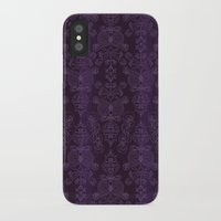 yankees iPhone & iPod Cases featuring Elena, Yankees blue ornate by EM | Surface Design