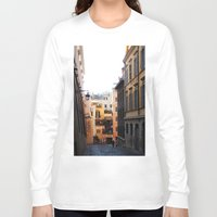 rome Long Sleeve T-shirts featuring Rome by Anya Kubilus