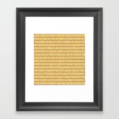 Safety in Numbers Framed Art Print