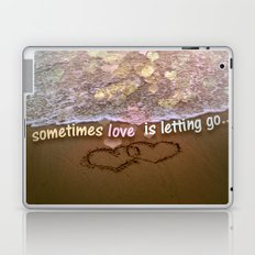 Letting Go  Laptop & iPad Skin