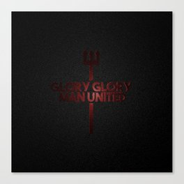 Glory Man United Canvas Print