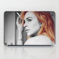 lindsay lohan iPad Cases featuring Lindsay Lohan by Katieb1013