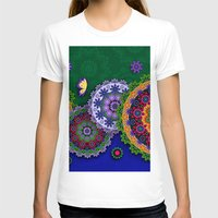 india T-shirts featuring Blooming India by Robin Curtiss