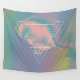 Etna River 1983 Wall Tapestry