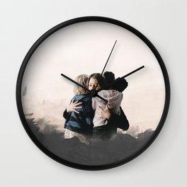 We'll Be Fine Wall Clock