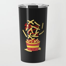 Extreme French Fry Making Travel Mug