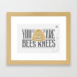 Bee's Knees Framed Art Print