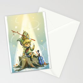 Forest Aria Stationery Cards