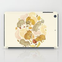 totes iPad Cases featuring Things Squirrels Probably Shouldn't Be Eating by Teagan White