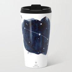 Zodiac Star Constellation - Aries Travel Mug