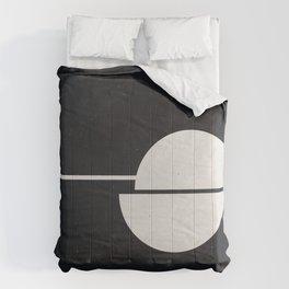 #007 Black Comforters