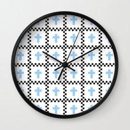 Christian Cross 52 Wall Clock