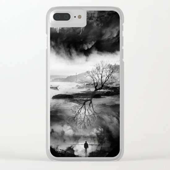 The Fisherman's son who wanted to be a mountaineer! Clear iPhone Case