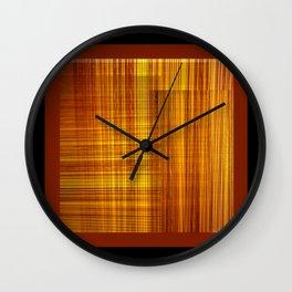 Pleated DPG170615c Wall Clock