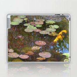 Koi Pond and Lilypads Laptop & iPad Skin