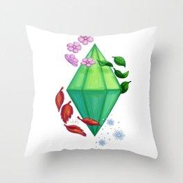 Seasons Plumbob Throw Pillow