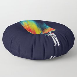 Space vandal Floor Pillow