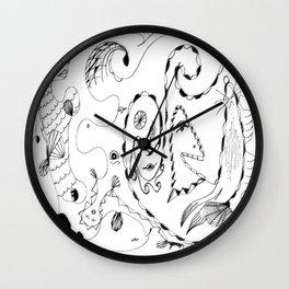 Calm as a Bomb #8 Wall Clock