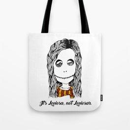 Hermione Granger Skull Leviosa Tote Bag