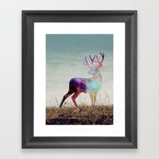 The spirit I Framed Art Print