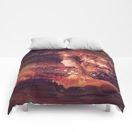 Shadow of a Thousand Lives - Visionary - Manafold Art Comforters