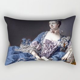Madame De Pompadour Rectangular Pillow