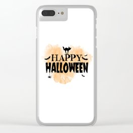 Happy Halloween | Spooky Clear iPhone Case