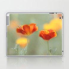 Vibrant Orange Laptop & iPad Skin