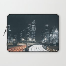 Night city long exposure Laptop Sleeve