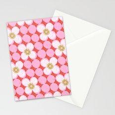 dotty flowers Stationery Cards