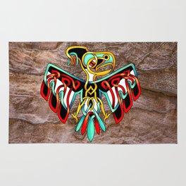 Thunderbird-knot Rug