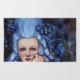 Blue Wig Rug