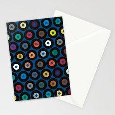 VINYL blue Stationery Cards