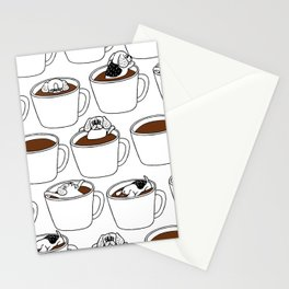 More Coffee Beagle Stationery Cards