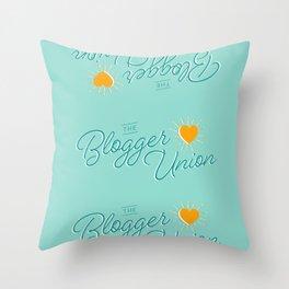The Blogger Union Throw Pillow